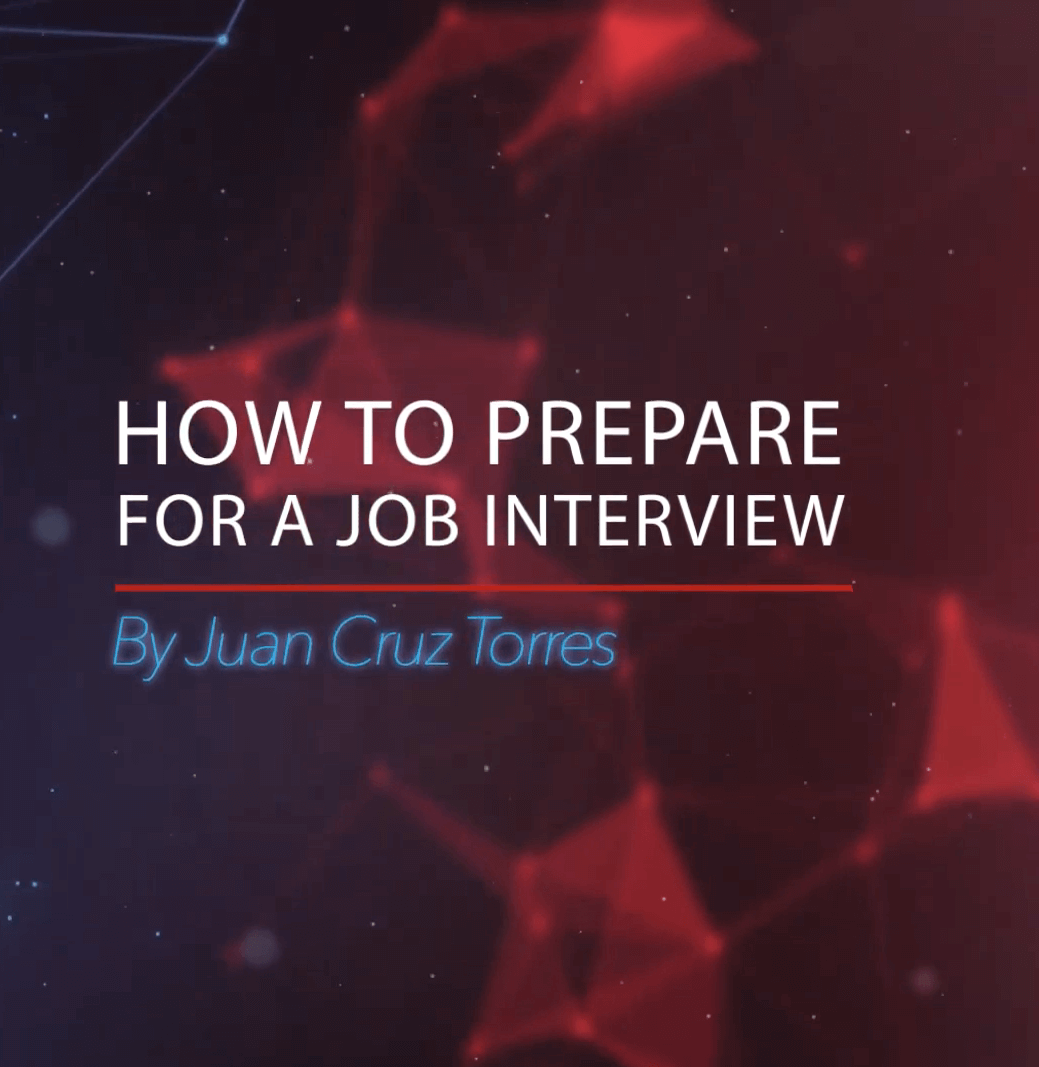 How to face an interview by Mr. Juan Cruz Torres An AU Career Services