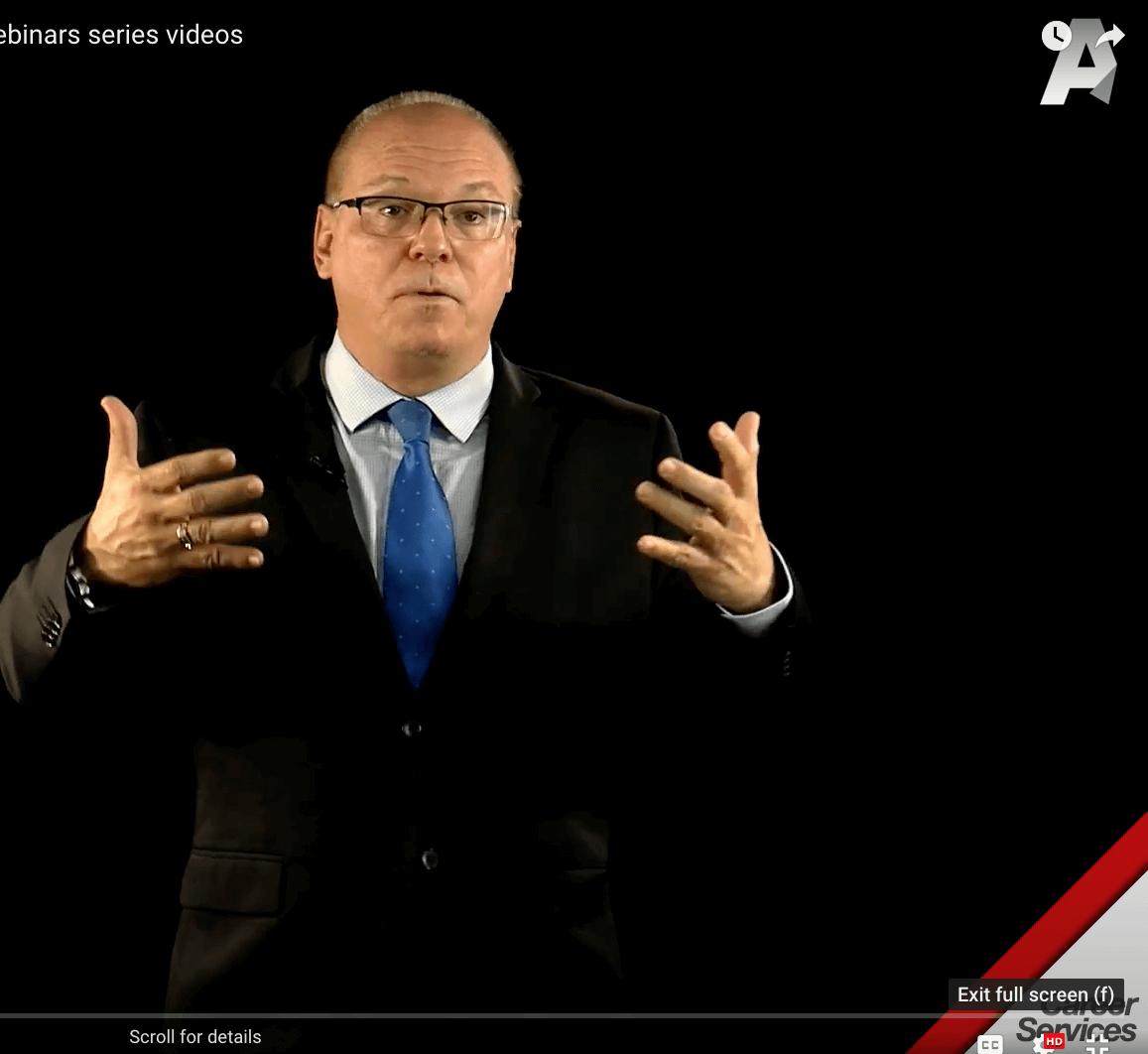 Negociation Skills by Alex Lima An AU Career Services webinars series videos
